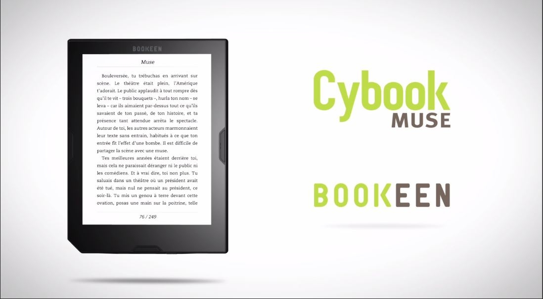 E-bralnik Cybook Muse