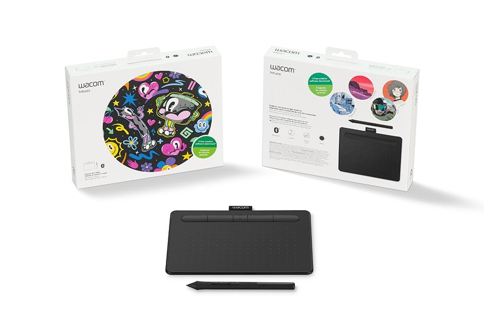 Paket ustvarjalnosti z grafično tablico Wacom Intuos S