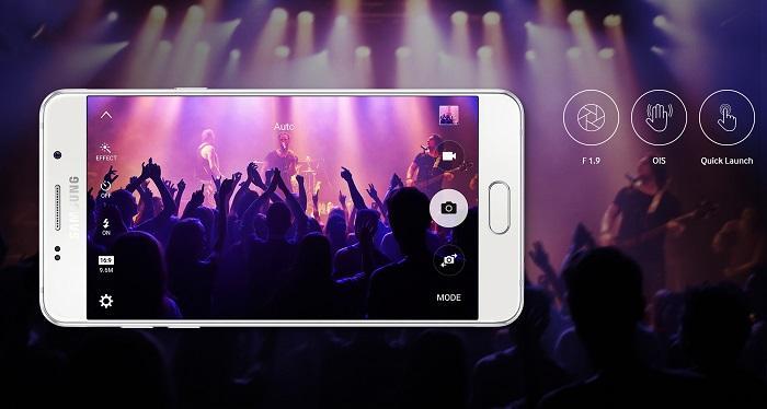 Samsung Galaxy A510, zajame odlične fotografije in videoposnetke