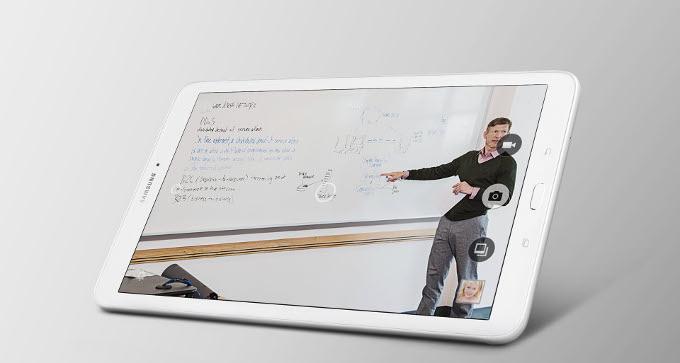 Fotoaparat Samsung Galaxy Tab E 9.6 ima veliko naprednih funkcij
