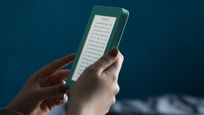 Udobno branje elektronskih knjig tudi ponoči