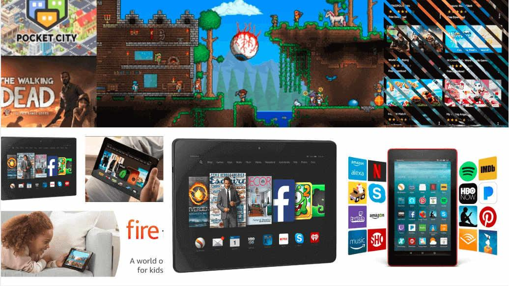 Amazon Fire 7 premore dovolj zabave za vso družino